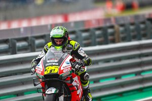 Crutchlow 'completely disagrees' with Argentina penalty