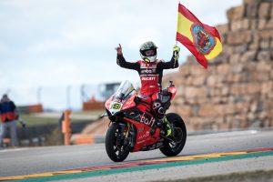 Dual Sunday Aragon WorldSBK victories for Bautista