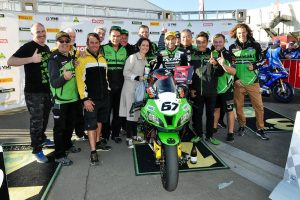The Bend ASBK clean-sweep for Kawasaki BCperformance and Staring