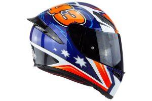 Detailed: AGV K-1 Miller helmet