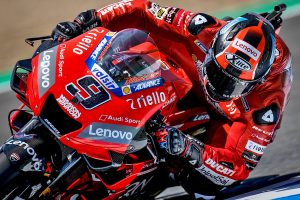 Ducati's Petrucci sets Friday MotoGP benchmark at Jerez