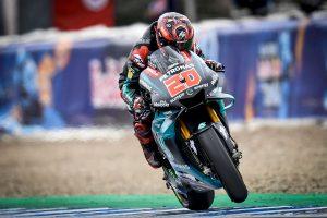 Rookie standout Quartararo stuns with Jerez MotoGP pole