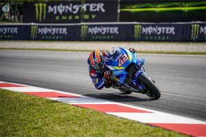 Rins optimistic after sampling updated Suzuki chassis