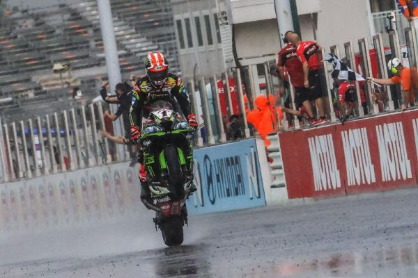 Restarted WorldSBK race one victory to Rea at Misano