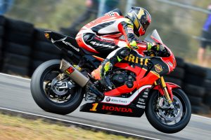Herfoss scores Morgan Park podium in admittedly tough weekend