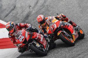 Dovizioso passes Marquez for thrilling Austrian MotoGP victory