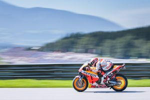 Record breaking pole position for Marquez at Austrian GP