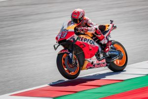 Marquez edges Vinales in Friday practice at the Red Bull Ring