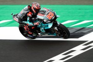 Quartararo blitzes Friday MotoGP practice at Silverstone
