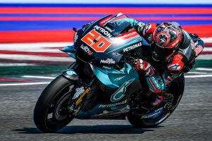 Quartararo fastest on day one of MotoGP testing at Misano