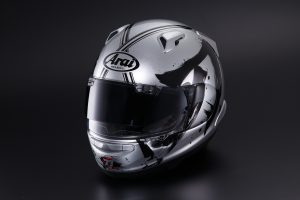 Detailed: 2020 Arai QV-Pro Suzuki KATANA helmet