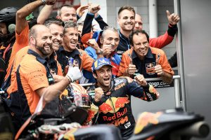 KTM front row milestone for Zarco in timely breakthrough