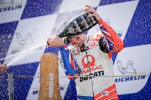 'I kept my cool' says Miller in thrilling Aragon MotoGP podium