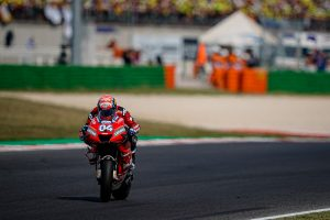 Dovizioso accepts sixth in challenging Misano MotoGP