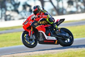 Penrite Honda Racing's Herfoss and Chiodo on target for Winton