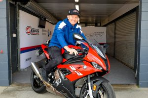 Allerton samples BMW S 1000RR ahead of Australian GP debut
