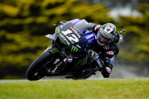 Vinales edges Miller in wet FP1 at Phillip Island