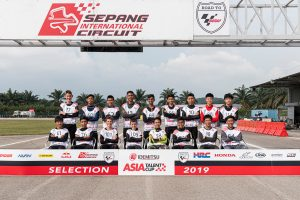 Gibbons and Thompson selected for 2020 Asia Talent Cup
