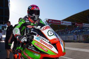 Currie rejoins Gearlink Kawasaki in BSB Supersport