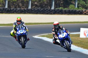 Newly-crowned champion Toparis earns Phillip Island Supersport win