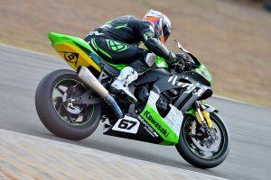 Kawasaki BCperformance makes steps forward through Morgan Park ASBK weekend