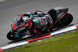 Quartararo leads Petronas Yamaha SRT 1-2 in Sepang practice