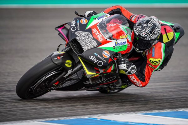 Aprilia set to roll out new RS-GP for Sepang MotoGP test