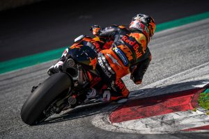 Red Bull Ring shakedown completed by KTM MotoGP team
