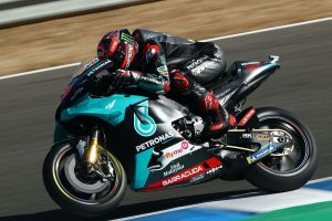 Quartararo edges Vinales for second-straight Jerez MotoGP pole