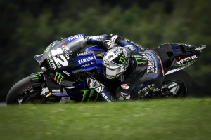 Vinales takes pole in Austria after late challenge from Miller