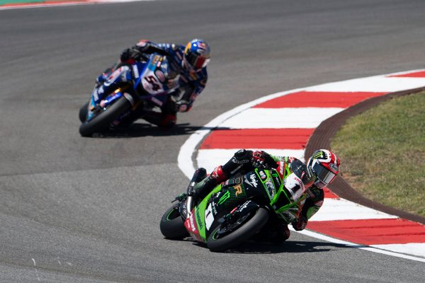 Rea displays dominance in WorldSBK race one at Portimao