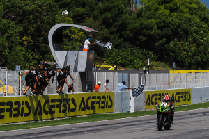Rea extends points lead after Catalunya race one victory